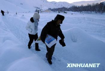 """""""中国第二寒极""""零下40摄氏度的生活"""