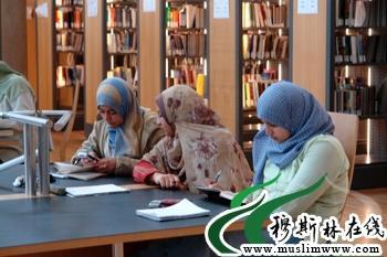 法国穆斯林--戴纱巾的诱惑.萨利赫摄-600万法国穆斯林迎来伊历1431图片