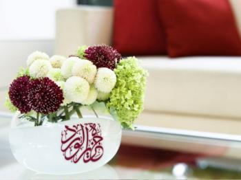 精美的伊斯兰桌面
