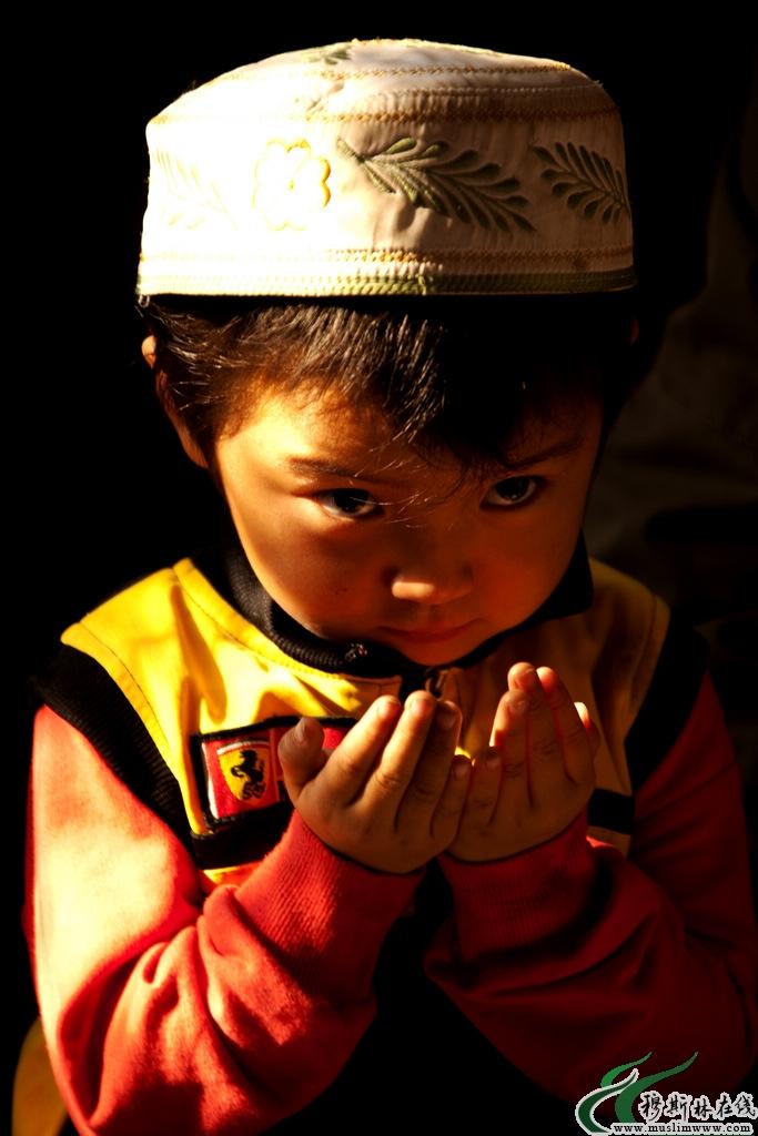 回族姑娘_虔诚的回族儿童 - 图说人生 - 穆斯林在线(muslimwww)