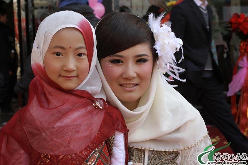 回族姑娘_天真可爱的回族儿童 - 图说人生 - 穆斯林在线(muslimwww)