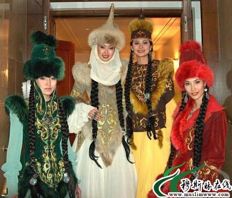 哈萨克族美女; 哈萨克族的《红楼梦》;;