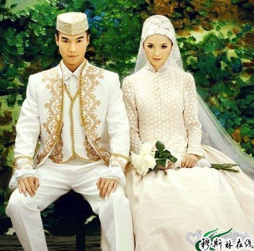 美丽的回族婚纱照(高清大图)