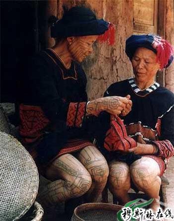 申请将黎族文身文化列入中国非物质文化遗产保护名录图片