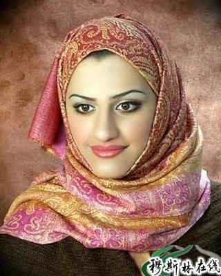 非沙特的穆斯林美女