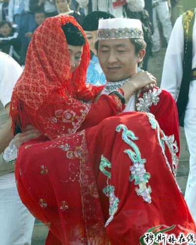 回族姑娘_青海神秘的撒拉族婚嫁习俗 - 历史 - 穆斯林在线(muslimwww)