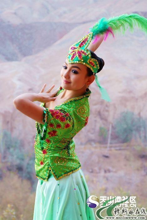 回族清真寺_美丽的维吾尔族姑娘 - 人文记实 - 穆斯林在线(muslimwww)