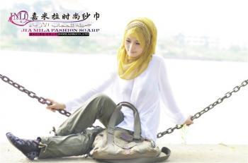 嘉米拉2012年6月时尚新款纱巾(一)