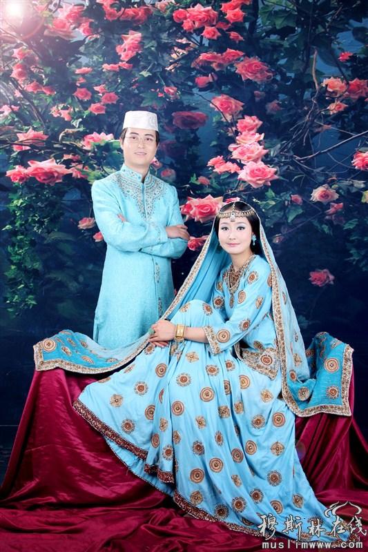 一组唯美的穆斯林婚纱写真 - 人文记实 - 穆斯林在线图片