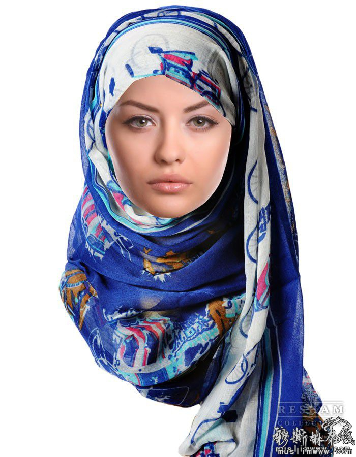 回族头巾,头巾戴法,戴头巾的回族女孩(第8页)_点力 ...