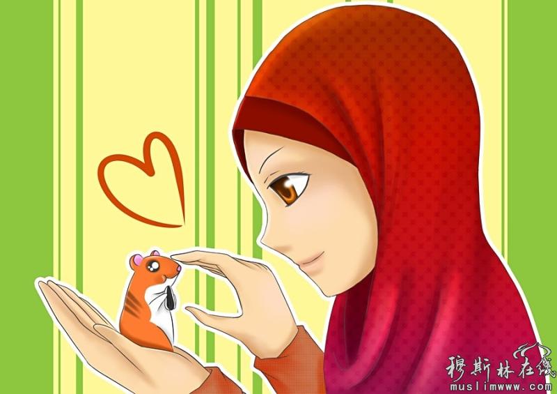 穆斯林动漫美少女(二)
