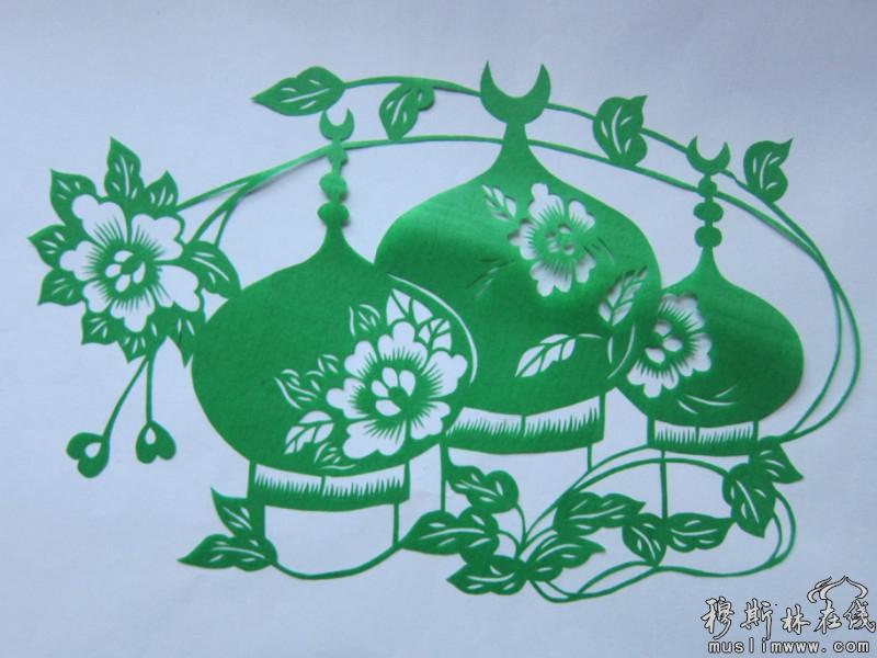 赏析回族剪纸艺术家田彦兰的作品