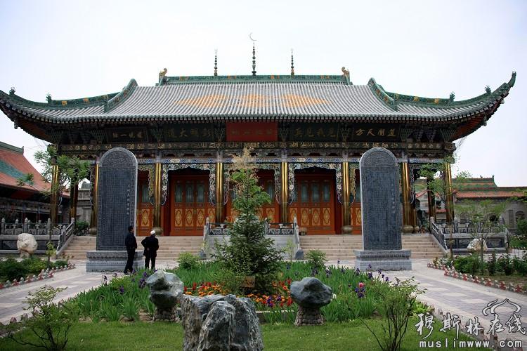 兰州灵明堂(拱北)全国最大之神秘清真寺院(一)