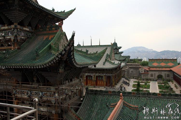 兰州灵明堂(拱北)全国最大之神秘清真寺院(二)