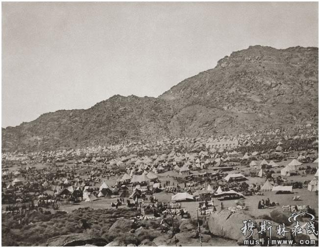 19世纪穆斯林朝觐麦加的珍贵照片