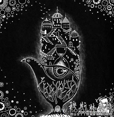 传统海娜手绘图