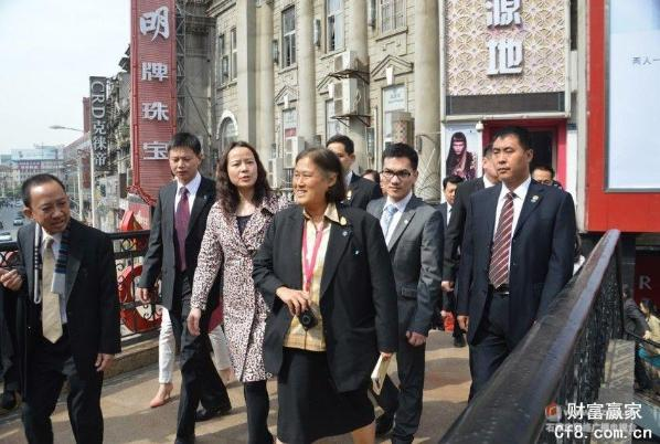 泰国公主素颜游武汉 中国通还是个翻译家
