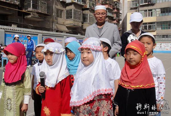 """回族幼儿园举办运动会庆祝""""六一""""儿童节"""