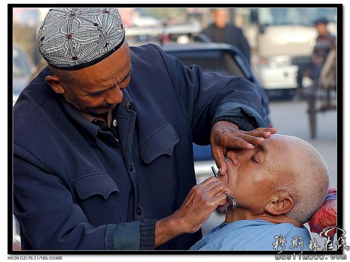 魅力新疆-人物系列《维吾尔族的男人们》(一)