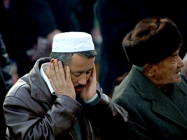 节日里的穆斯林