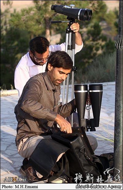 伊朗库姆观月现场(2010年) 穆罕默德·侯赛因·伊玛米 摄影