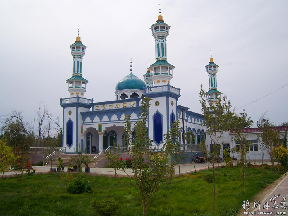 中东风格的伊斯兰建筑
