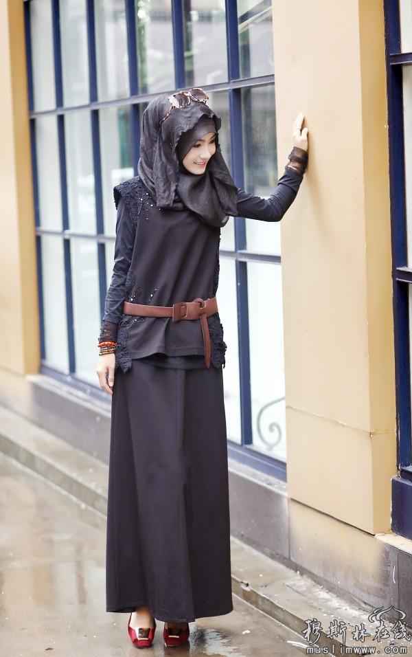 嘉米拉时尚纱巾引领中国伊斯兰服装艺术的潮流