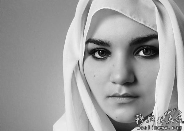 掀开神秘沙特阿拉伯美女的面纱