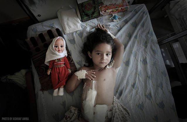 以色列炮火下的加沙
