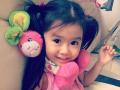 韩国5岁混血萝莉爆萌照走红成迪拜土豪座上宾