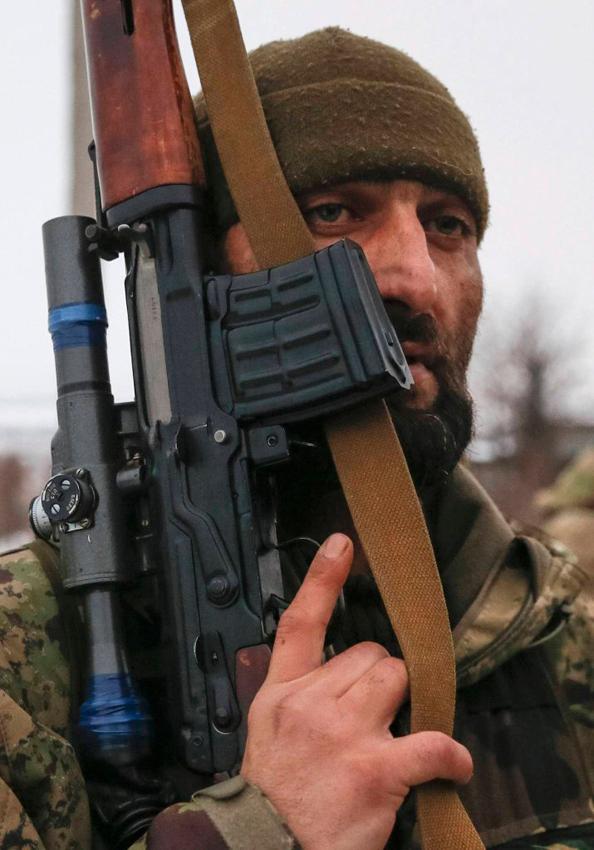 似300名车臣士兵入乌作战 多为俄军退伍穆斯林