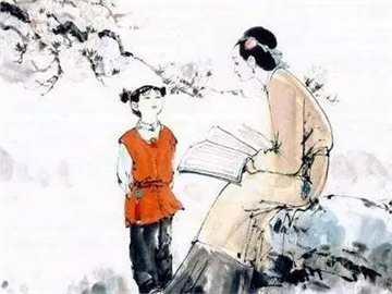 """""""爱子七不责"""",看看古人怎么责备孩子图片"""