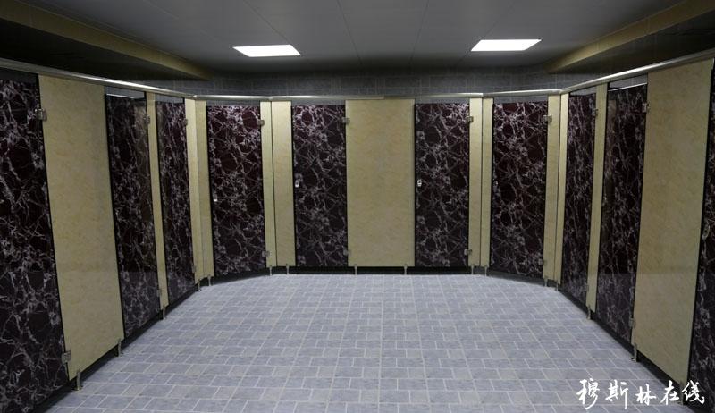 新水堂采用最先进的太阳能水循环系统,可储存热水17吨,热水自动循环,即开即热。可同时容纳500人做小净,净下室、卫生间110余间,其中大净室20个,残疾人洗手间6个,各类设施完善,属国内清真寺水塘之最。