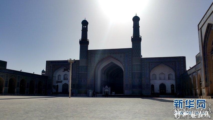 走进阿富汗赫拉特贾米清真寺(高清组图)