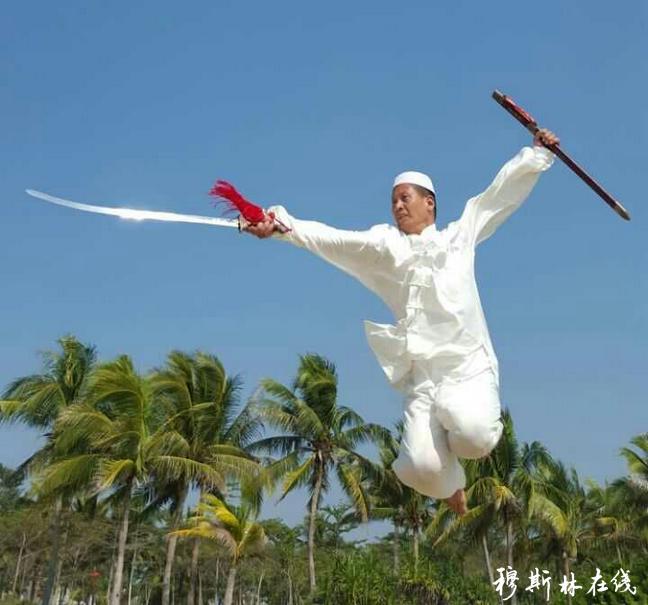 祁占林:回族武者