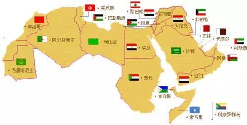 阿拉伯半岛南部出现了