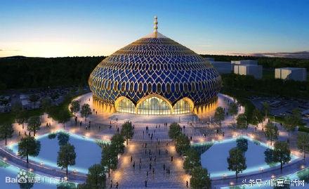 极具伊斯兰风情的临夏民族大剧院