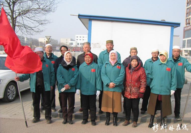 漯河穆斯林爱心服务队为千家保护送暖献爱