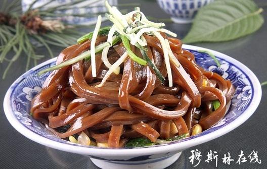 天水张家川回族自治县美食--醋粉-清真黄酒-穆特产天下美食图片
