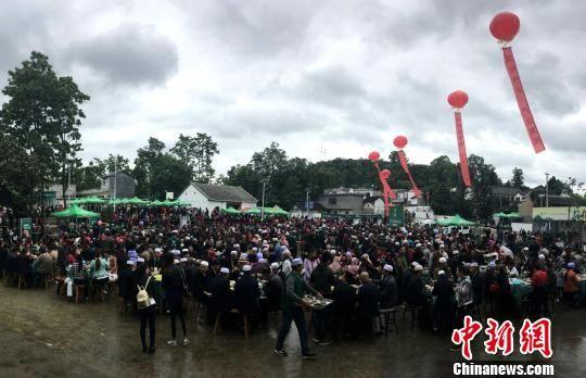 6省区回族同胞聚贵州兴仁 共品清真大宴