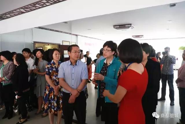 全国妇联副主席、书记处书记邓丽莅临管城回族区调研指导
