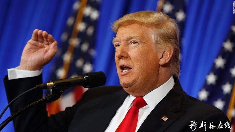 美国总统特朗普恭祝穆斯林斋月吉庆
