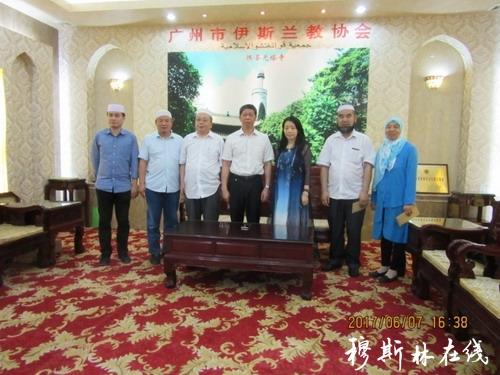 广州市民宗局汪茂铸局长到清真寺检查斋月工作