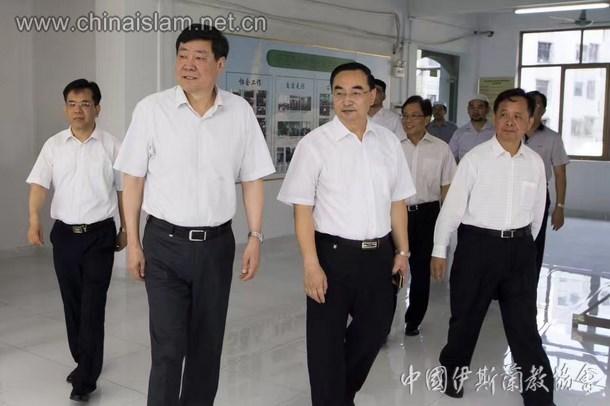 中央统战部史大刚副部长视察东莞市伊协