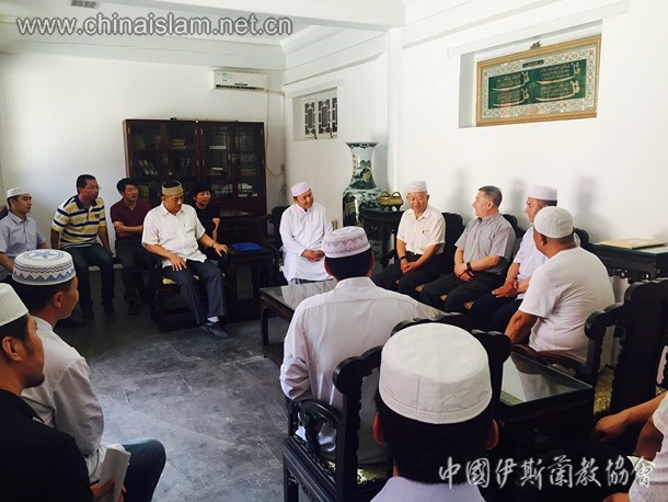 北京市宗教局领导慰问朝阳区全体阿訇