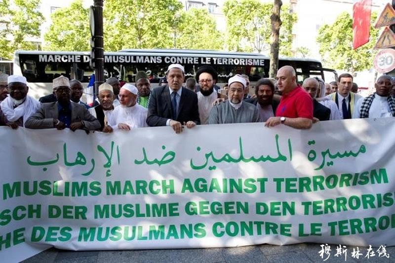 穆斯林领袖环游欧洲谴责暴力