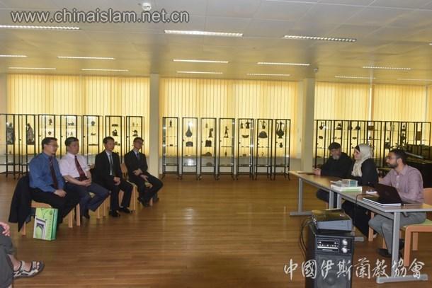 中国伊协代表团访问奥地利