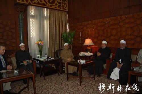 """格尔达威:艾资哈尔肩负着教化和指导""""稳麦""""的重任"""
