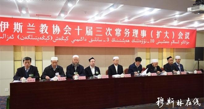 中国伊协召开十届三次常务理事(扩大)会议