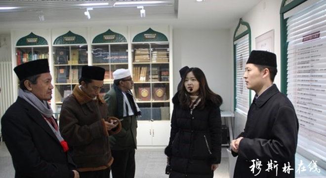 印尼伊斯兰教组织代表团参观东四清真寺